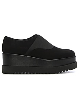 Daniel Amalo Suede Flatform Loafers