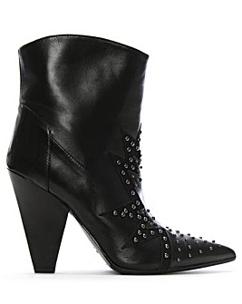 Daniel Awesty Star Studded Ankle Boots
