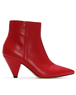Daniel Veep Cone Heel Ankle Boots