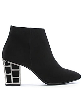 Daniel Aquart Caged Heel Ankle Boots