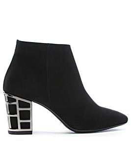 Daniel Aquart Caged Heel Ankle Boots