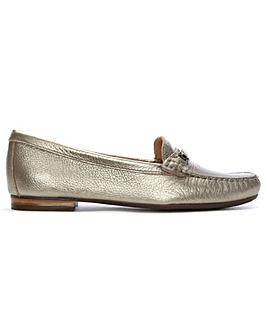 Daniel Tano Pebbled Leather Loafers