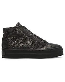 Daniel Salix Metallic Flatform High Tops