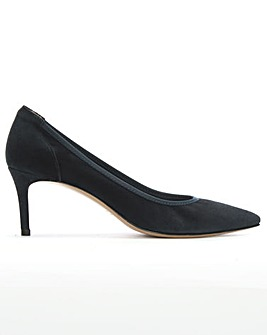 Daniel Aloise Suede Pointed Court Shoes