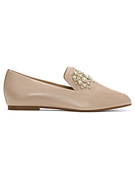 Michael Kors Pearl Embellished Loafers