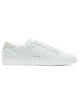 Ash Leather Star Embellished Trainers