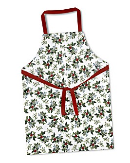 The Holly & The Ivy PVC Apron