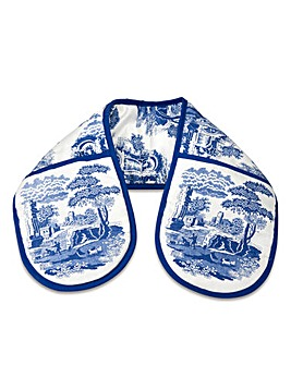 Blue Italian Double Oven Glove