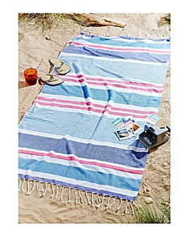 Funky Stripe Beach Towel