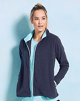 Long Sleeve Fleece Zip Top