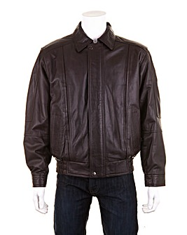 Woodland Leather Blouson Jacket