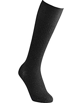Extra Roomy Wool Knee High Socks