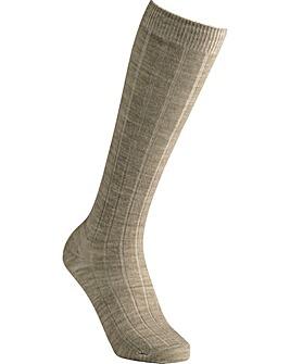 Extra Roomy Wool Knee High Socks