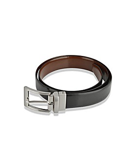 Woodland Leather Reversiable Belt