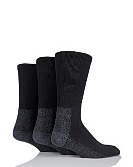 4 Pack Workforce Safety Boot Calf Socks
