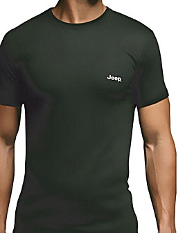 Jeep Short Sleeved Thermal T- Shirt