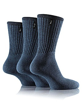 3 Pair Jeep Vintage Leisure Socks