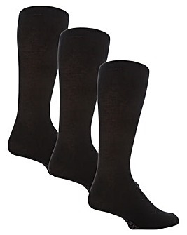 6 Pair Plain Socks