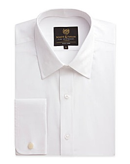 Scott & Taylor LS Double Cuff Shirt