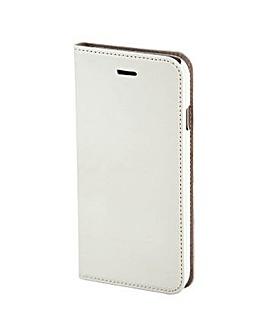 Hama Slim Book Case for iPhone 6, White