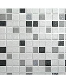 Contour Checker Black&White Wallpaper