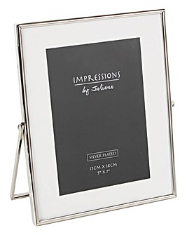 Impressions Silverplated Photo Frame 5x7