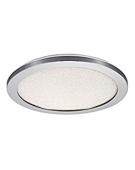 Crackled Bathroom Ceiling Light