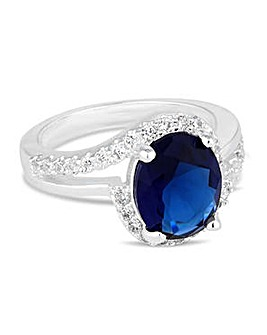 Jon Richard Blue statement ring