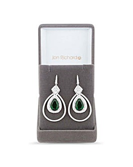Jon Richard Green drop earring