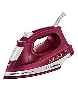 Russell Hobbs 2400W Mulberry Steam Iron
