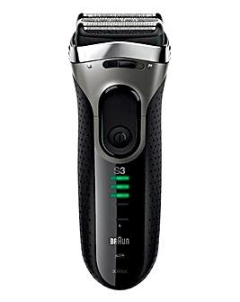 Braun S3 Wet & Dry 390s Shaver