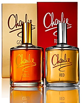 Charlie Gold and Red 100ml EDT BOGOF