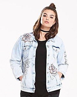 Alice & You By Glamorous Denim Jacket