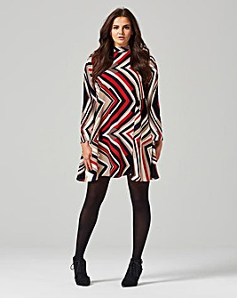 AX Paris Stripe Swing Dress