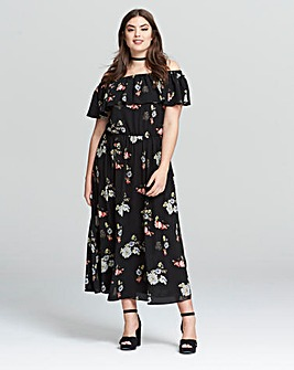 AX Paris Floral Bardot Maxi Dress