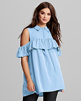 AX Paris Frill Detail Tunic