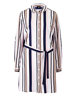 AX Paris Stripe Shirt Dress