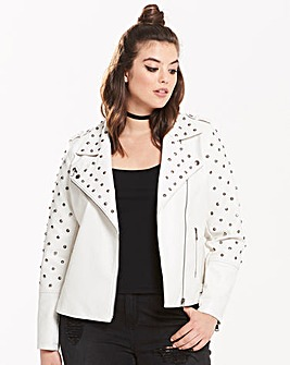 Alice & You By Glamorous Studded Jacket