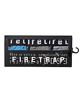 Firetrap 3 Pack Assorted Pattern Boxers