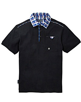 Voi Hawk Woven Collar Polo Long