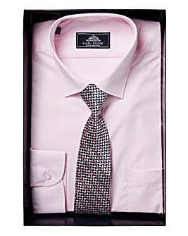 Rael Brook Boxed Shirt And Tie Set