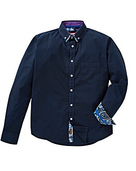 Joe Browns Pop-Up Paisley Shirt Regular