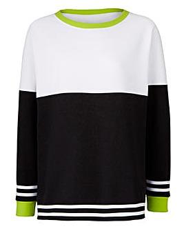 Label Be Longline Sweater
