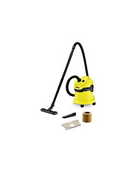 Karcher WD2 Wet and Dry Vacuum Cleaner.