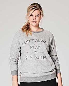 Label Be Fleece Sweater