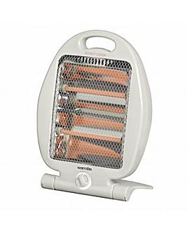 Warmlite 800W Folding Quartz Heater