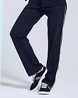 Straight Leg Jogger with Contrast Piping