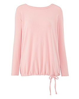 Blouson Wrap Back Top