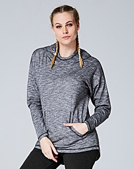Slouch Neck Hoodie