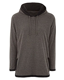Soft Hooded Top